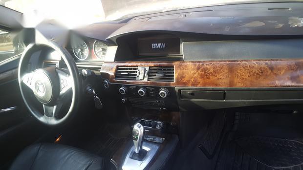BMW 530i 2009 Black for sale-3