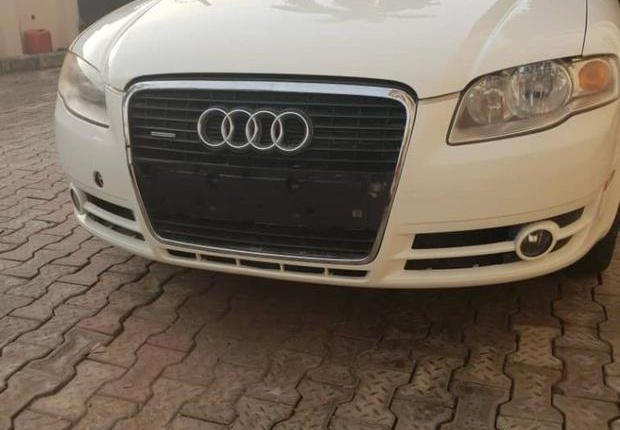 Audi A4 2007 White for sale-0