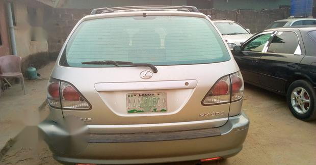 Lexus RX 2002 Silver for sale-1