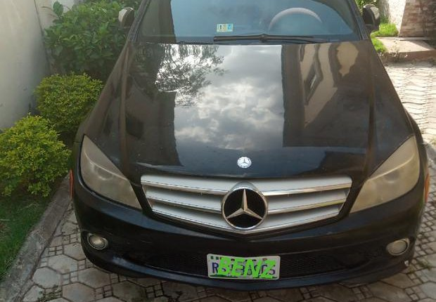 Mercedes-Benz C350 2008 Black for sale-0