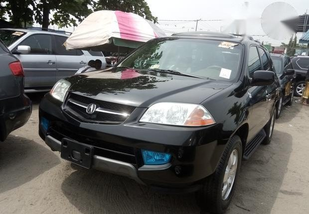 Clean Foreign used Acura MDX 2003 Black-0