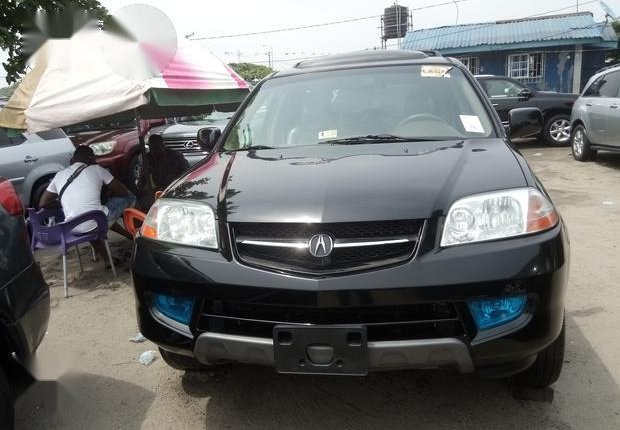 Clean Foreign used Acura MDX 2003 Black-4