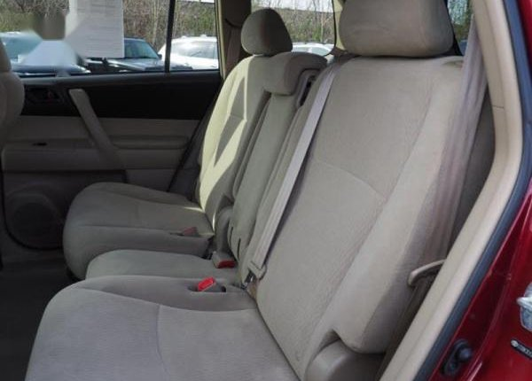 Foreign Used Toyota Highlander 2010 Sport Red-6