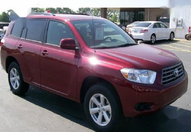 Foreign Used Toyota Highlander 2010 Sport Red-0