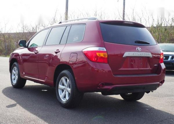 Foreign Used Toyota Highlander 2010 Sport Red-3