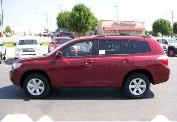 Foreign Used Toyota Highlander 2010 Sport Red-2