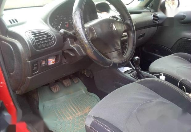 Neat Nigerian used Peugeot 206 2000 Red-5