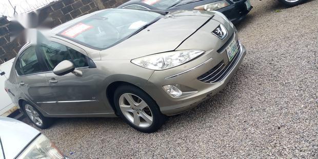 Clean Nigerian Used Peugeot Vivacity 2018 Gold-1
