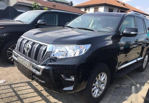 Very Clean Foreign used Toyota Land Cruiser Prado 2018 Limited Black-0