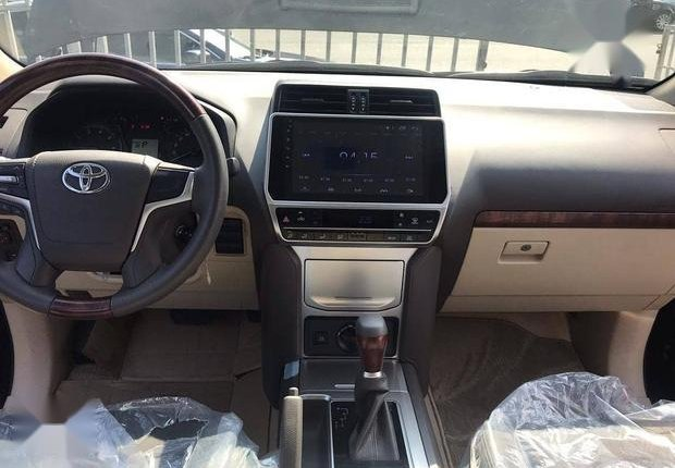Very Clean Foreign used Toyota Land Cruiser Prado 2018 Limited Black-4