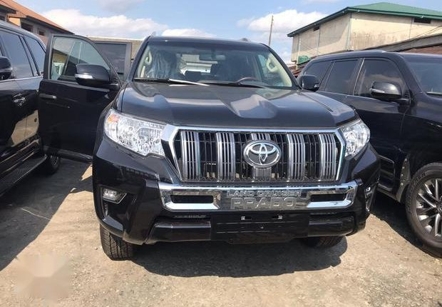 Very Clean Foreign used Toyota Land Cruiser Prado 2018 Limited Black-10