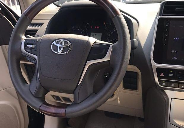 Very Clean Foreign used Toyota Land Cruiser Prado 2018 Limited Black-16
