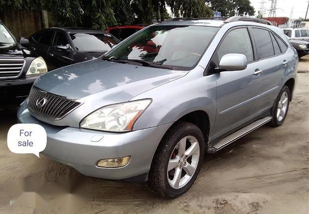 Well Maintained Nigerian used Lexus RX 330 2006 Silver-0