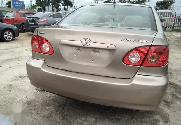 Very Clean Foreign used Toyota Corolla LE 2006 Gold-2