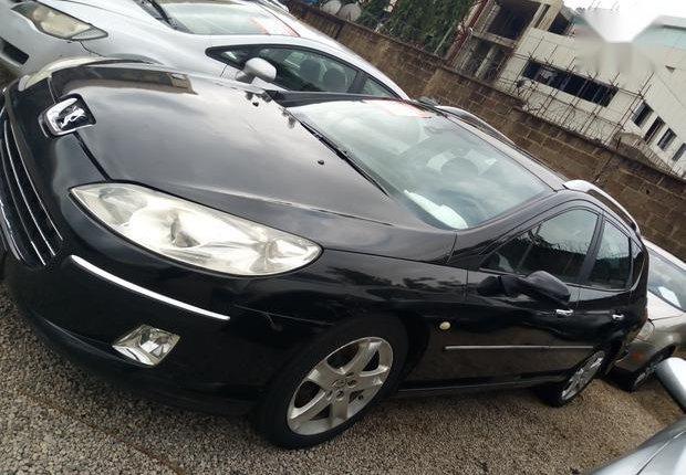 Nigerian Used Peugeot 407 2005 Black-1