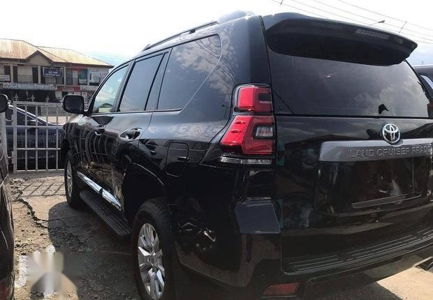 Very Clean Foreign used Toyota Land Cruiser Prado 2018 Limited Black-3