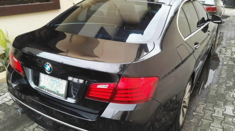 Need to sell used 2014 BMW 530i automatic in Lagos at cheap price-2