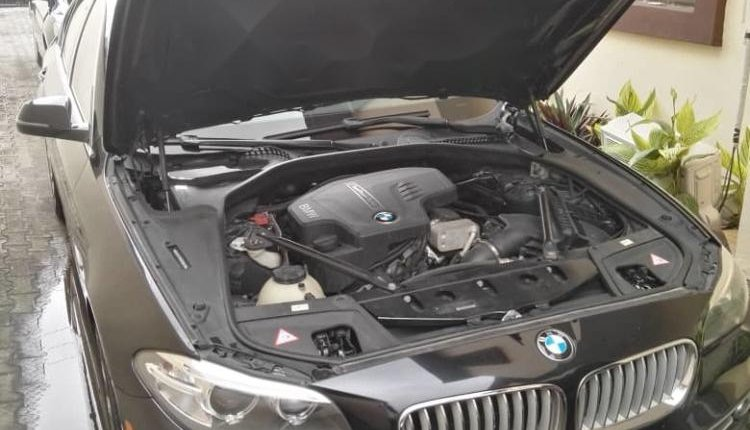 Need to sell used 2014 BMW 530i automatic in Lagos at cheap price-0