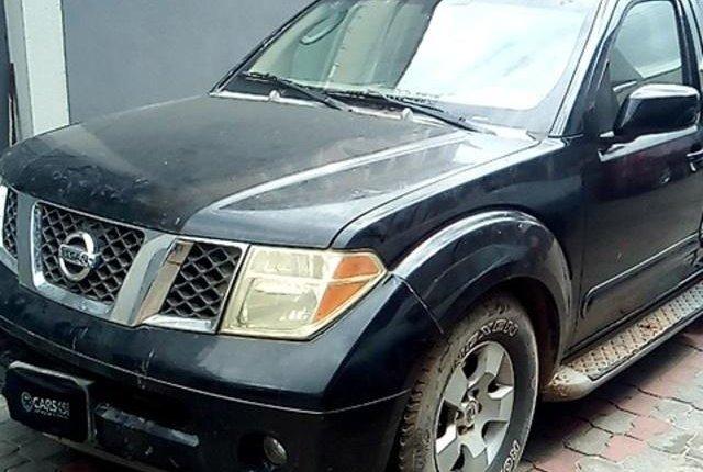Neat Nigerian used Nissan Pathfinder 2006-2