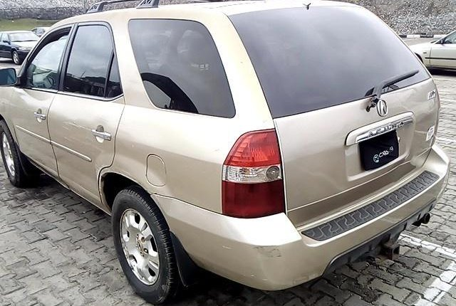 Neat Nigerian used 2002 Acura MDX for sale-8