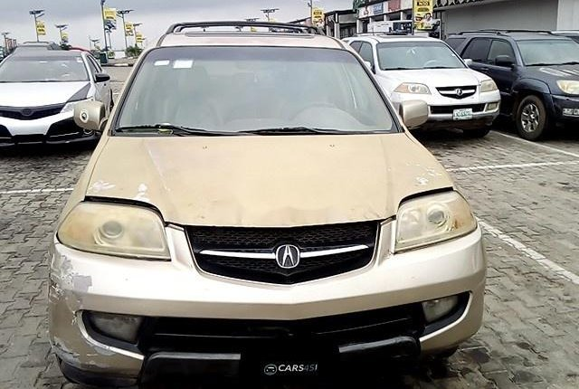 Neat Nigerian used 2002 Acura MDX for sale-1