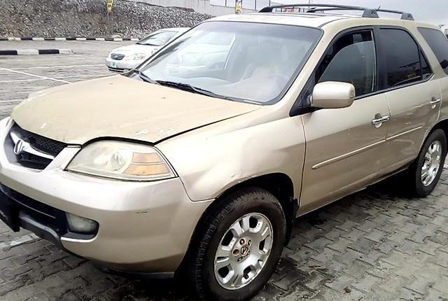 Neat Nigerian used 2002 Acura MDX for sale-3