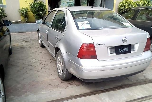 Nigerian Used 2001 Volkswagen Jetta Petrol-8