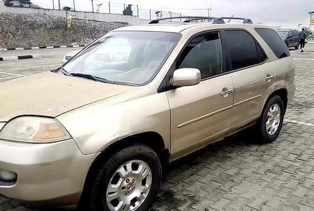 Neat Nigerian used 2002 Acura MDX for sale-5