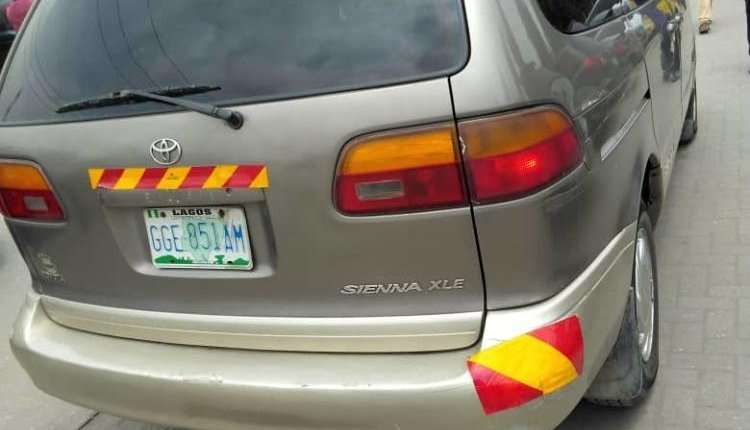 Nigerian Used 1999 Toyota Sienna -1