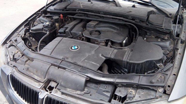 Neat Nigerian used BMW 318i 2007-9