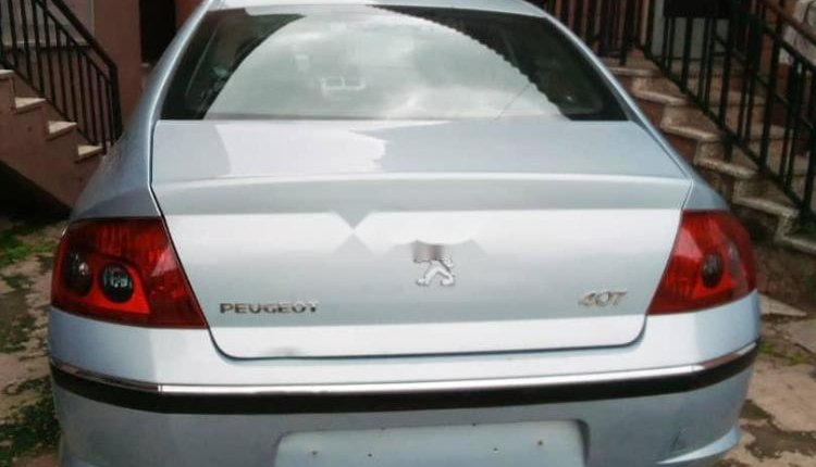 Neat Foreign used 2006 Peugeot 407-1