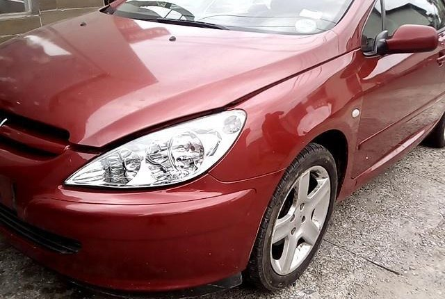 Well Maintained Nigerian used 2008 Peugeot 307-3