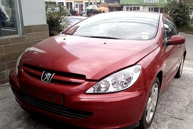 Well Maintained Nigerian used 2008 Peugeot 307-0