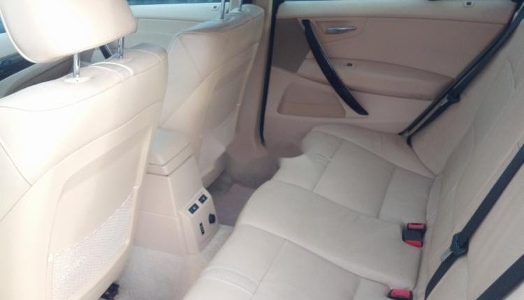 Clean Foreign Used BMW X3 2007 Gold-10