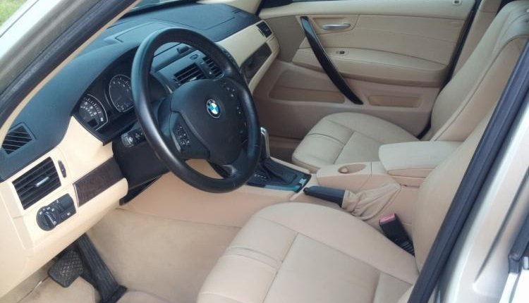 Clean Foreign Used BMW X3 2007 Gold-11
