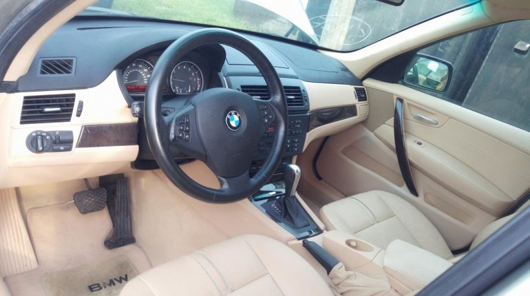 Clean Foreign Used BMW X3 2007 Gold-5