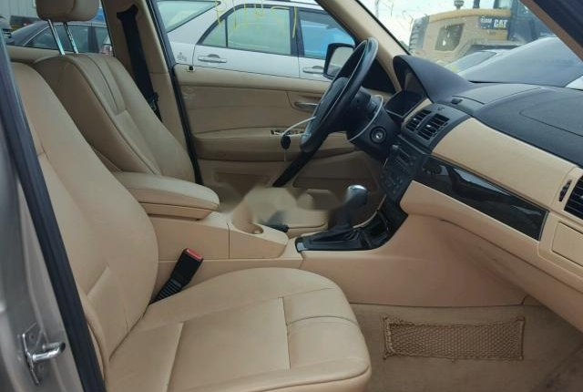 Clean Foreign Used BMW X3 2007 Gold-12