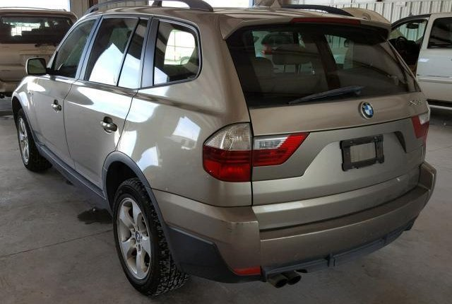 Clean Foreign Used BMW X3 2007 Gold-1