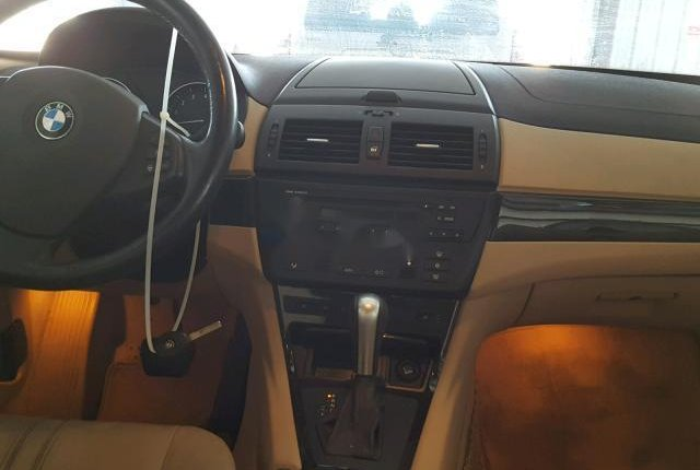 Clean Foreign Used BMW X3 2007 Gold-2
