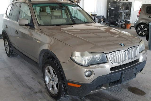 Clean Foreign Used BMW X3 2007 Gold-0