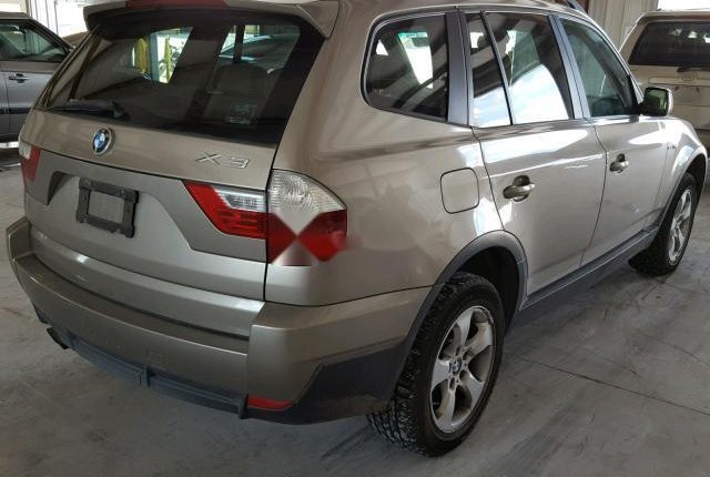 Clean Foreign Used BMW X3 2007 Gold-3