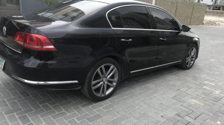Clean Nigerian Used Volkswagen Passat 2015 Model Black -1