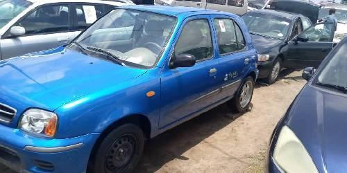 Super Clean Foreign used 2000 Nissan Micra -5