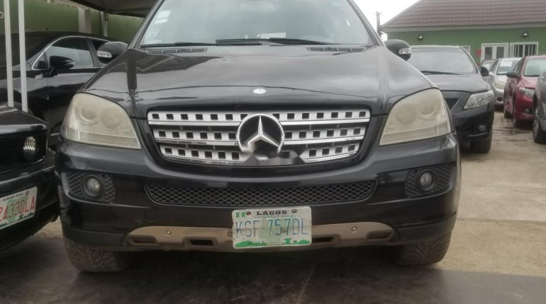 Nigerian Used Mercedes-Benz ML350 2007 Model Black-0