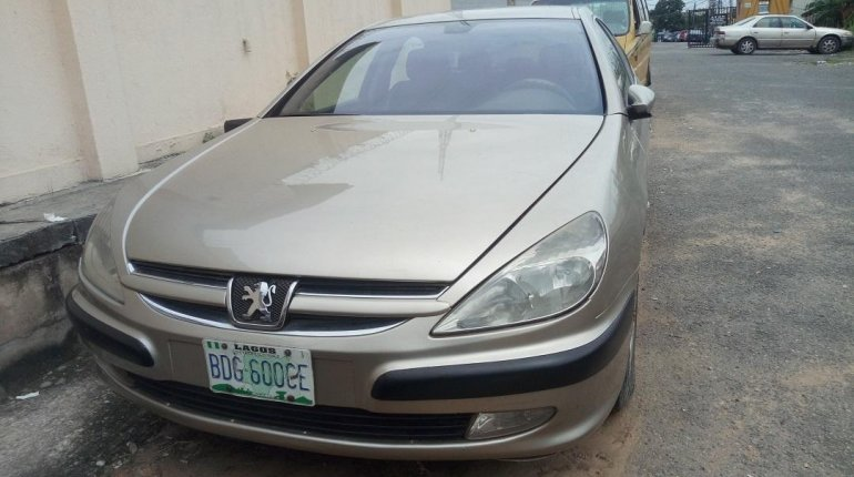 Nigerian Used Peugeot 607 2005 Model Gold-0