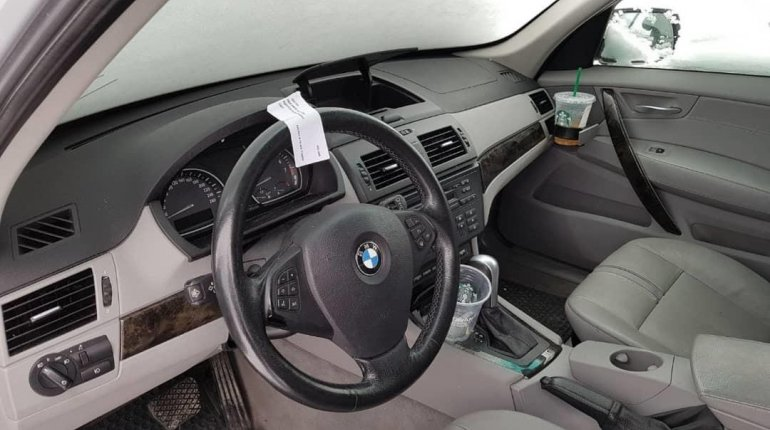 Nigerian Used BMW X3 2009 Model-3