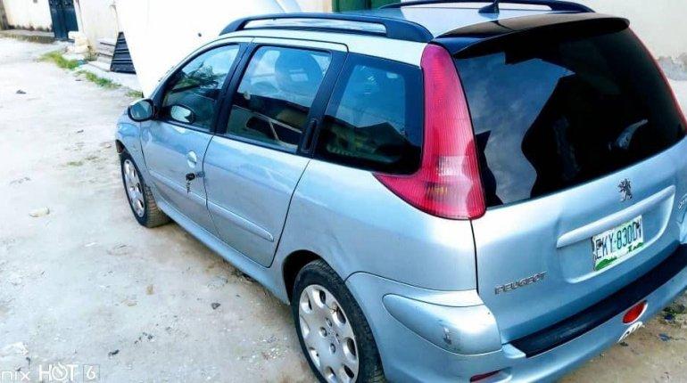 Nigerian Used Peugeot 206 2004 -1