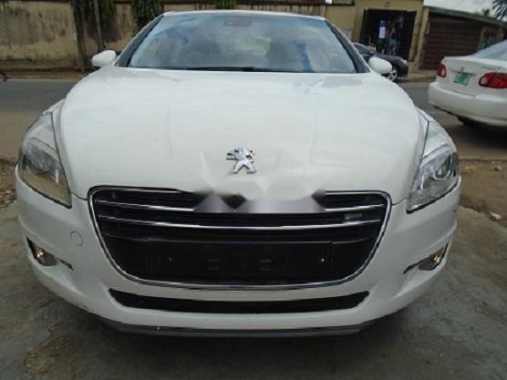 Foreign Used Peugeot 508 2012 Model White-0