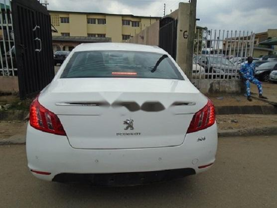 Foreign Used Peugeot 508 2012 Model White-5