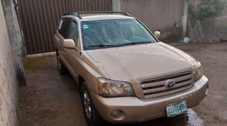 2004 Toyota Highlander Petrol Automatic-4
